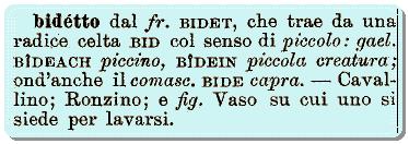 Chi ha inventato il bidet? L'origine francese del termine suggerisce origini diverse da quella italiana - e non è un caso.