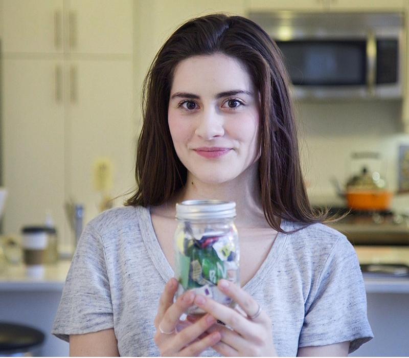 come si possono ridurre i rifiuti? basta seguire l'idea innovativa di Lauren Singer.