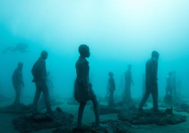 L'isola di Lanzarote è la culla di un grande museo sottomarino.