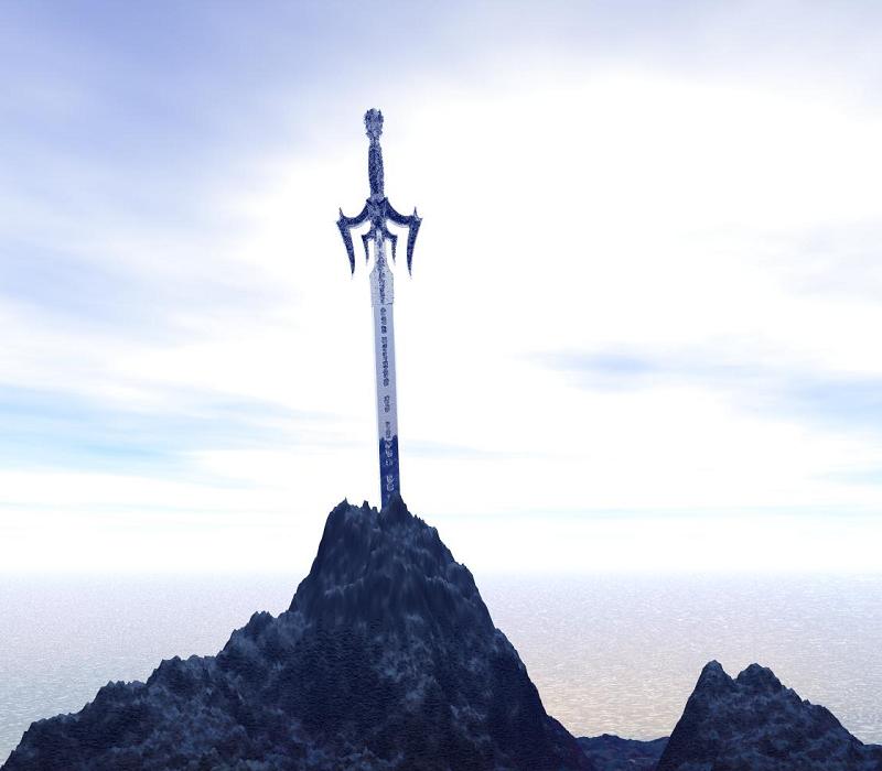 La spada nella roccia è una leggenda antica forse reale.