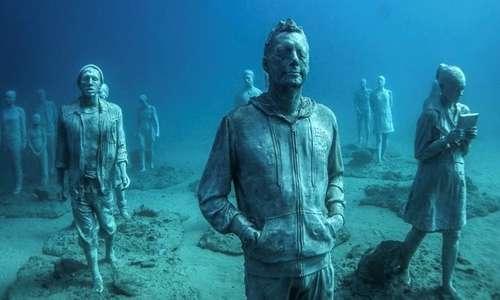 Nell'isola di Lanzarote è presente un museo sottomarino.