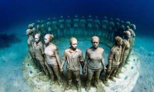 La bellezza del museo dell'isola di Lanzarote è tutto sott'acqua.