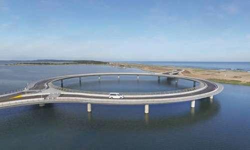 Rafael Vinoly è l'ideatore del ponte circolare in Uruguay.