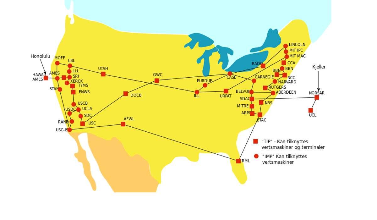 La rete primaria precursore di Internet si chiamava ARPANET.