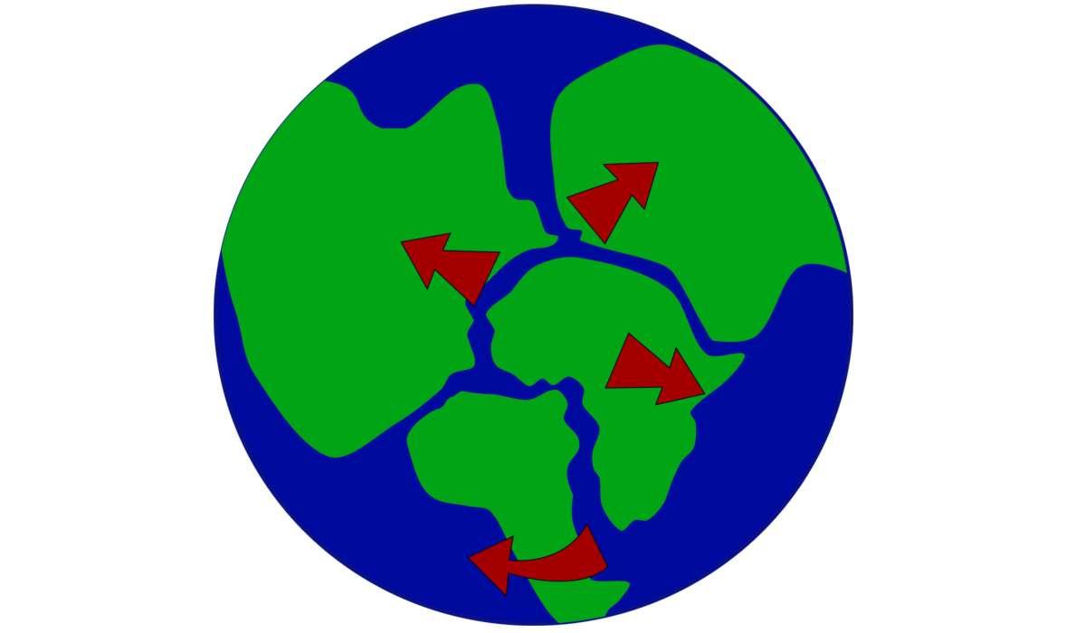 Durante quale periodo si formò il supercontinente chiamato Pangea?