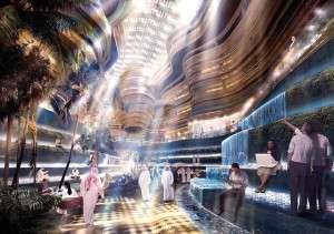 Masdar city è un tentativo di creare la prima città a emissioni zero.
