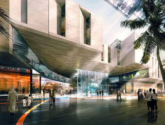Masdar city verrà completata nel 2020.
