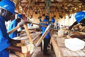 La bamboo bike è realizzata da ragazzi Ghanesi manualmente.