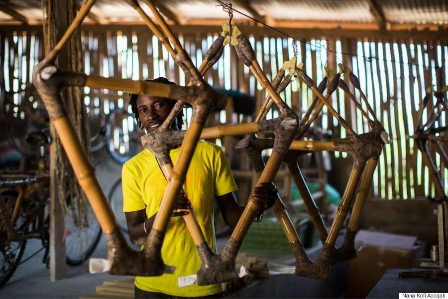 La bamboo bike è un progetto con molte aspirazioni.