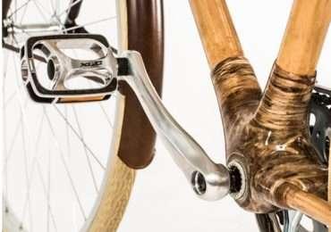 La bamboo bike è ideale per chi vuole spostarsi in città in maniera totalmente ecologica.