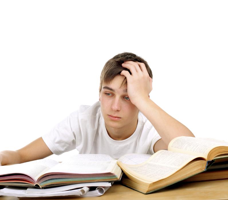 Lo stress cognitivo accumulato durante la giornata può compromettere le prestazioni degli studenti nell'affrontare esami impossibili.