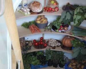 Ground Fridge è molto spazioso e permette di conservare tutti i propri alimenti.