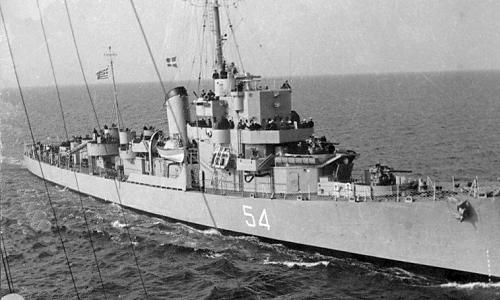USS DE-173 Eldridge