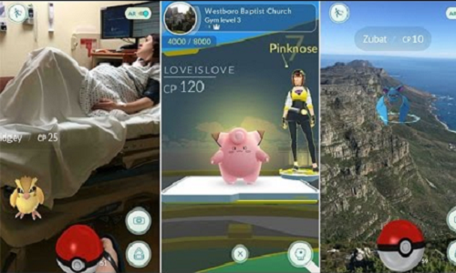 Le funzionalità del gioco si incentrano soprattutto sul pervadere la vita reale, attraverso interazioni con pokémon e giocatori grazie a un sistema di mapping.