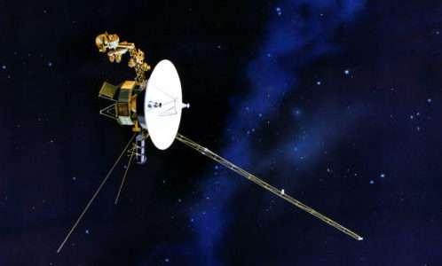 Una rappresentazione delle sonde Voyager