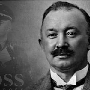 il fondatore della Hugo Boss casa di moda, in una foto dell'epoca, apprezzato da Hitler.