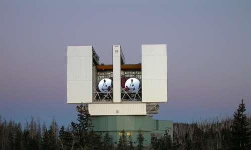 Il telescopio LBT.