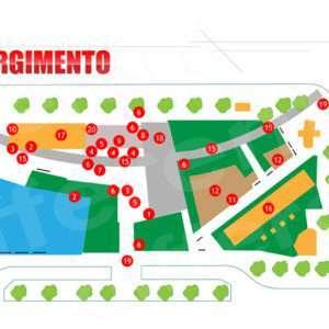 Torino smart city: piantina piazza risorgimento