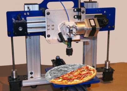 Stampante 3D della Nasa che realizza cibo
