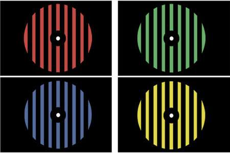 Immagini che causano fobia creano stimoli visivi colorati del cervello.