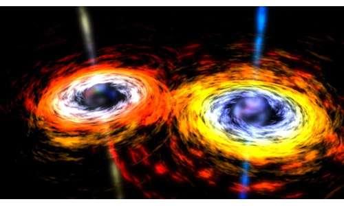 Buchi neri orbitanti. Onde gravitazionali e increspatura dello spazio-tempo