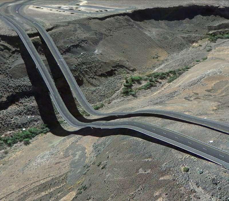Gli errori di Google Earth mostrati attraverso delle foto