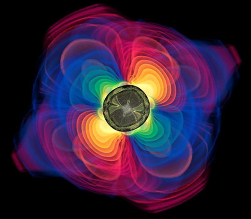 Buchi neri che si uniscono. Generazione onde gravitazionali e increspatura universo.