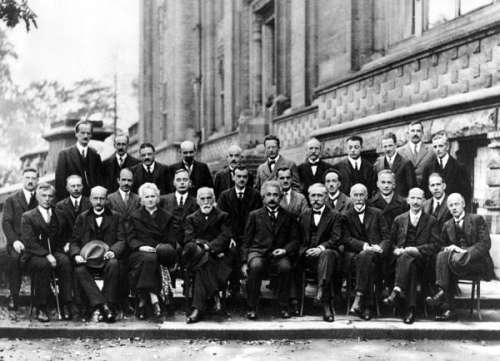 Paul Dirac alla Solvay Conference