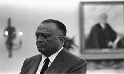 Edgar John Hoover era il direttore dell'FBI al quale venne inviato iil telegramma su uno degli avvistamenti UFO più conosciuti, il documento FBI più letto della storia.