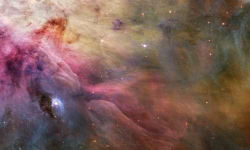 Il telescopio Hubble nel corso degli anni ha scattato numerosissime foto della Nebulosa di Orione, questa ne è un esempio.