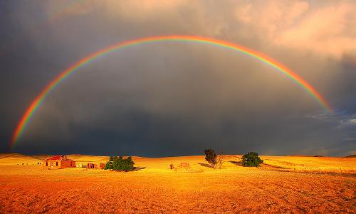 Il processo che spiega come si forma l'arcobaleno viene definito diffrazione della luce.