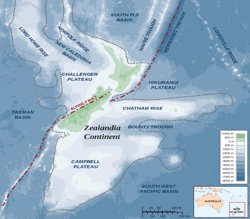 E' stato recentemente scoperta l'esistenza dell'ottavo continente, la Zealandia, il nuovo continente che sta facendo discutere la comunità scientifica.