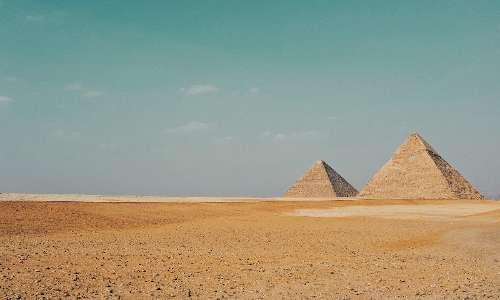 Il piano inclinato veniva studiato già nell'Antico Egitto per la costruzione delle piramidi.