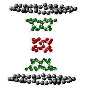 Il wormhole creato tra due lastre di grafene permetterebbe di realizzare circuiti estremamente efficienti, veloci e precisi a livello atomico.