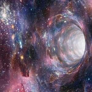 Tramite un wormhole si potrebbe in teoria viaggiare attraverso infiniti universi paralleli.