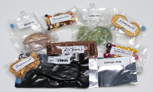 Argotec produce alimenti speciali per gli astronauti, che risultano essere un importante fattore psicologico.