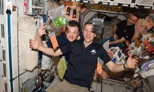 Argotec ha allestito un space food lab dove creare speciali pietanze spaziali.