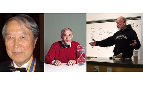 I tre fisici, in maniera indipendente, sono gli ideatori della famosa teoria delle stringhe.