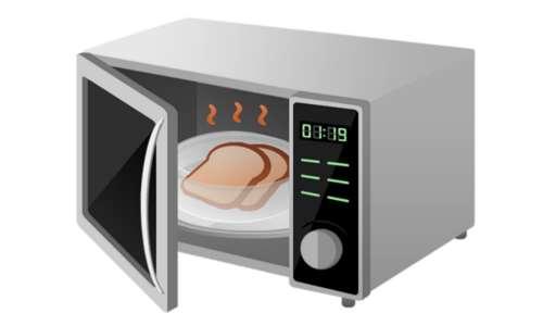 La gabbia di Faraday può essere usata per schermare eventuali onde elettromagnetiche, come nel caso del microonde. Le onde prodotte in questo apparecchio possono causare il riscaldamento della cornea degli occhi, per questo è importante limitare il loro raggio di azione.