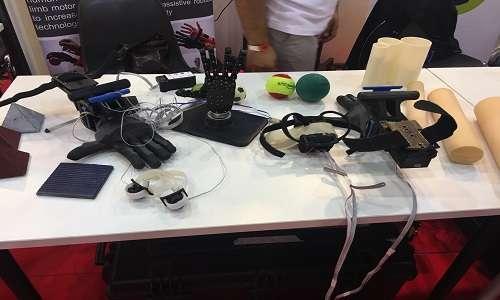 Al Maker Faire Roma è possibile trovare mani robotiche e molto altro.