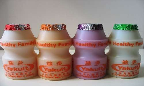 Bevanda probiotica acidificata tramite un'esposizione ai lattobacilli. Ad esso sono stati aggiunti fermenti lattici ed altre sostanze utili alla salute del consumatore