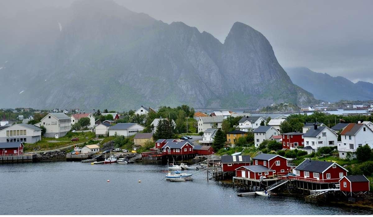 Come sono definiti i generici movimenti di alcuni blocchi della crosta terrestre verso l'alto, come quelli della penisola Scandinava, o verso il basso?