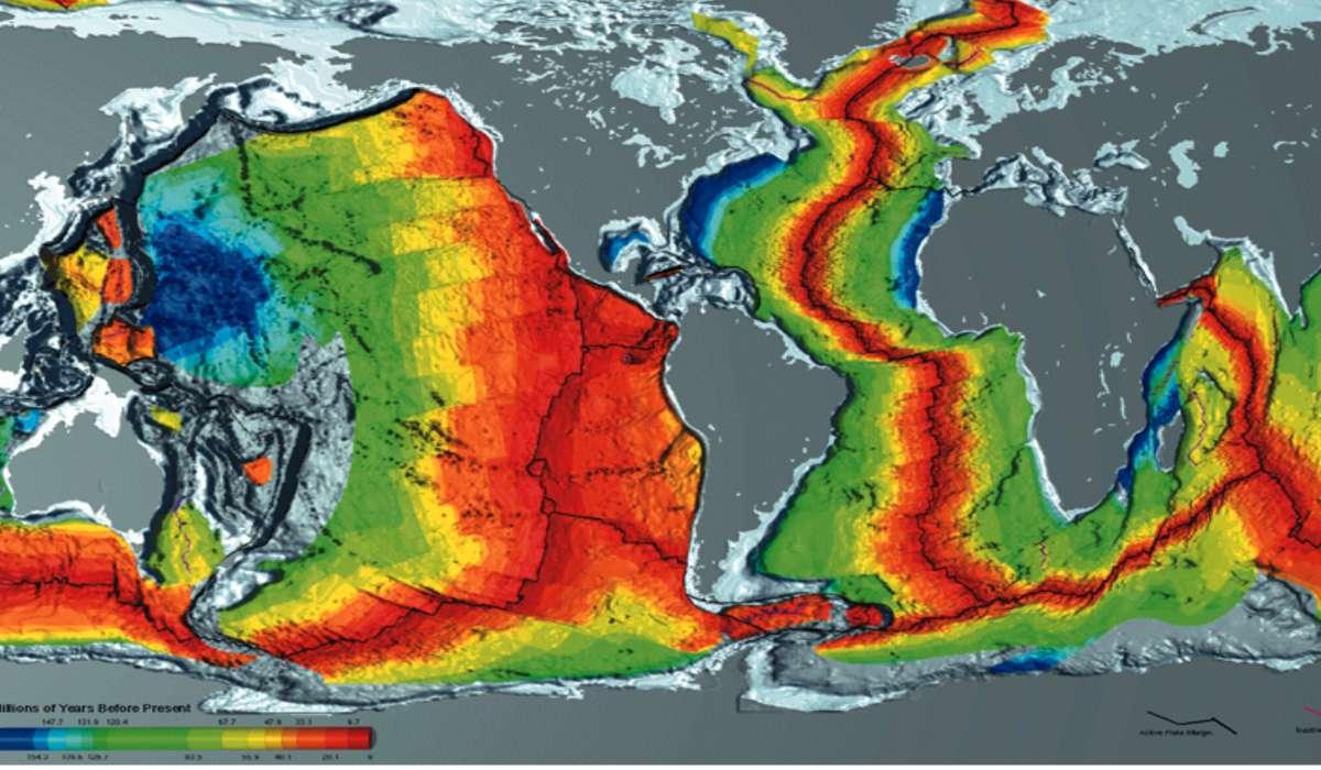 Cosa sono le dorsali oceaniche?