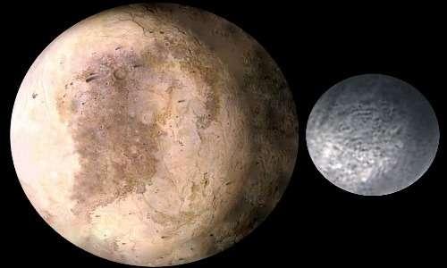 La sonda spaziale New Horizons ha scattato foto di tutti igli oggetti che ha studiato, tra cui Plutone e il suo satellite principale Caronte