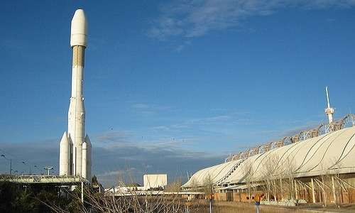 All'expo di Siviglia del 1992 fu esposto un modello di Ariane 4