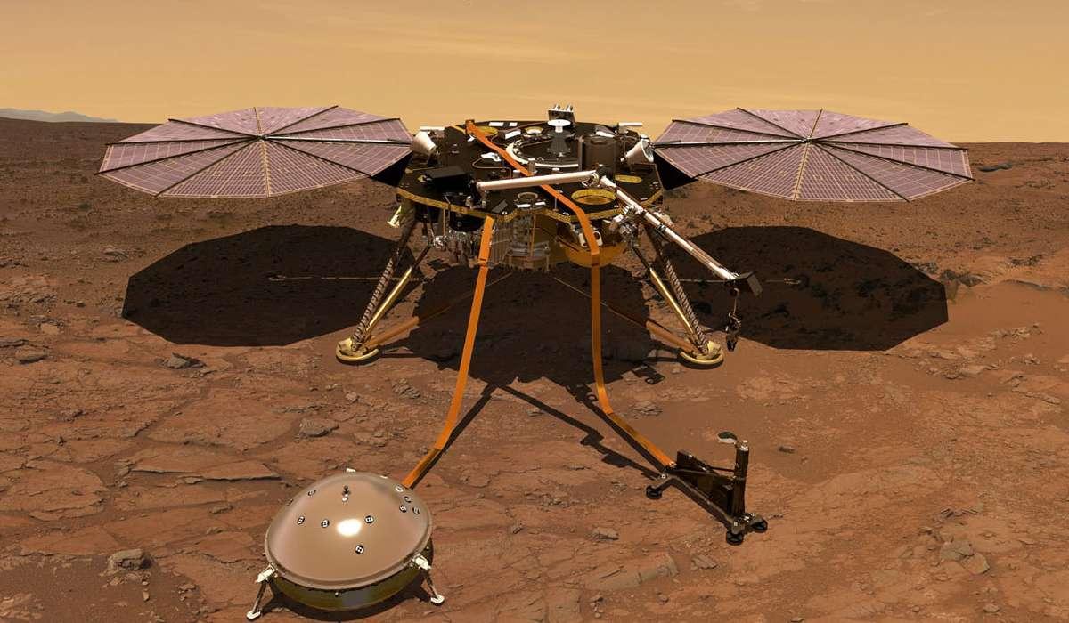 Come si chiama la sonda inviata su Marte dalla NASA nel 2018?