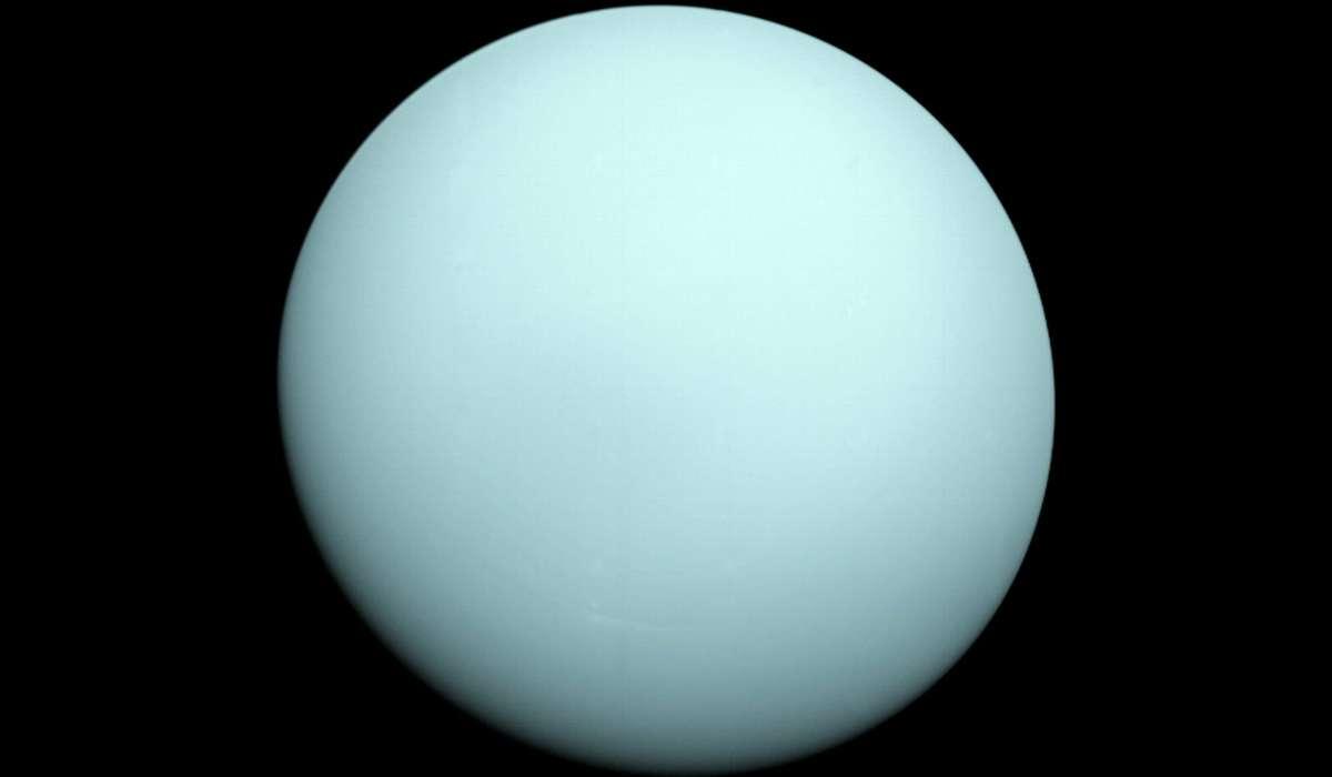 Urano è il terzo pianeta per ordine di: