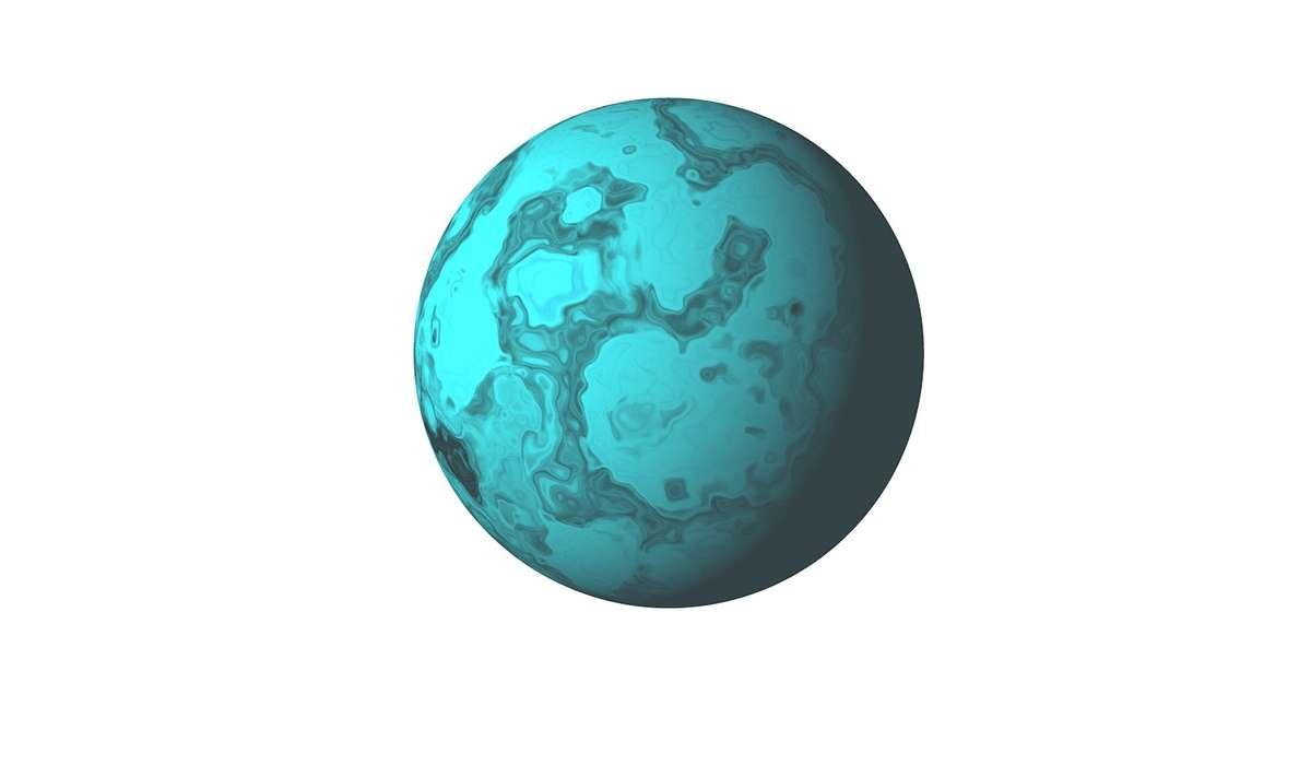Le temperature di Urano sono tali da renderlo: