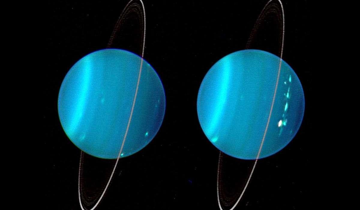 Urano possiede un sistema di anelli planetari?