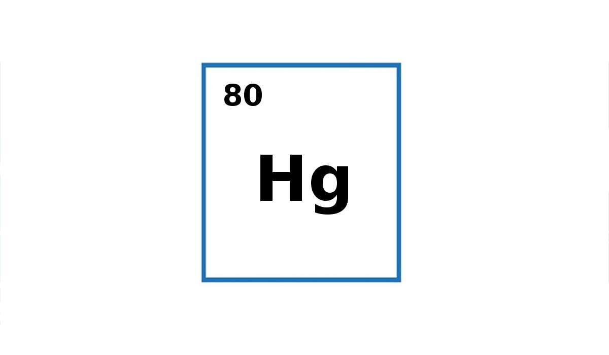 Per cosa sta il simbolo Hg?